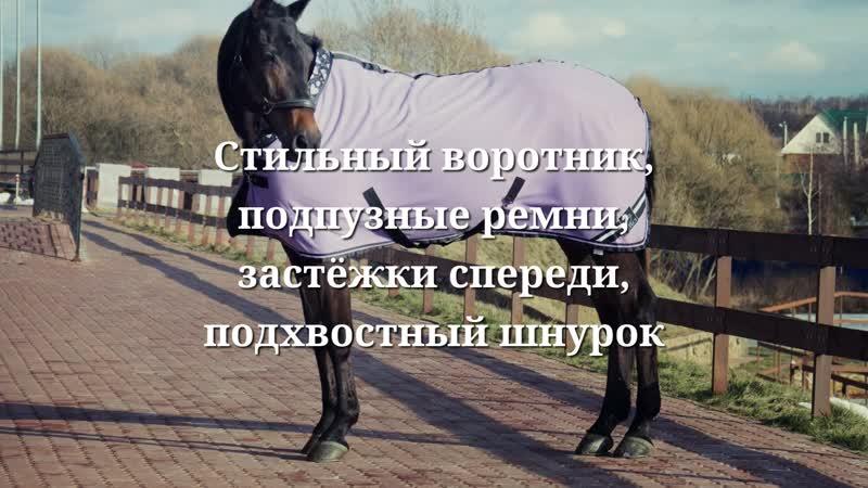 Флисовые попоны с воротником Horse Affect