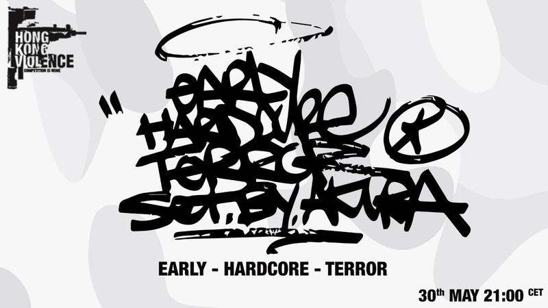 Early Hardcore Terror Set By Akira
