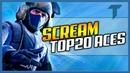 SCREAM TOP-20 ACES   Best of Scream   CS:GO Highlights