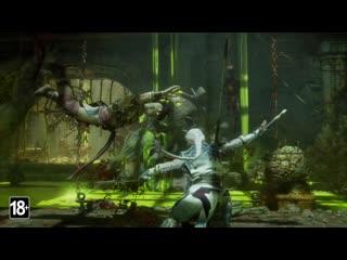Mortal Kombat 11: Aftermath - официальный трейлер геймплея