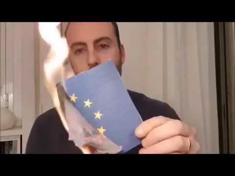 8 Sympathischer Trend Wir retten uns Wird EU Flagge bei Abspielen eigenen Nationalhymne verbrannt YouTube