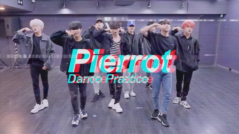 D-CRUNCH - Pierrot (Dance Practice)