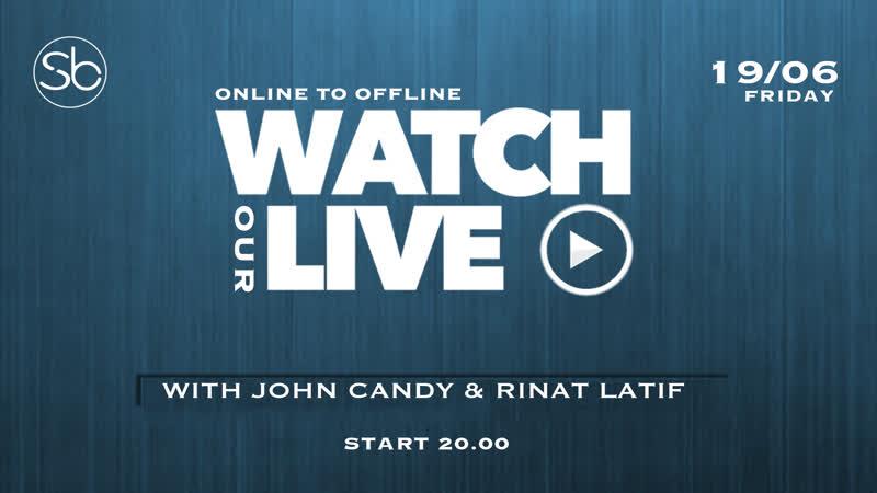 19.06.20 «Stream with John Candy, Rinat Latif MC Kerin»