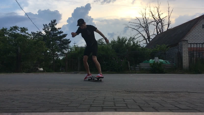 All try's fakie varial flip