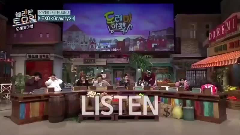 191214 @ tvN's Amazing Saturday Kyungsoo slow motion