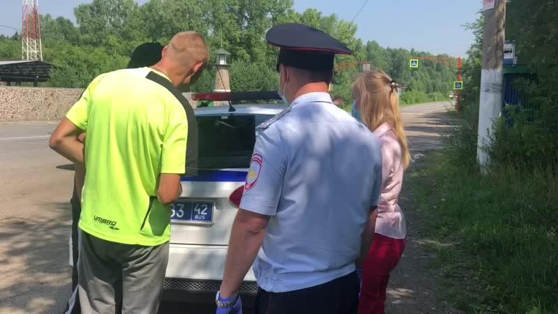 Сотрудники ГИБДД и члены Общественного совета ШОКировали водителей