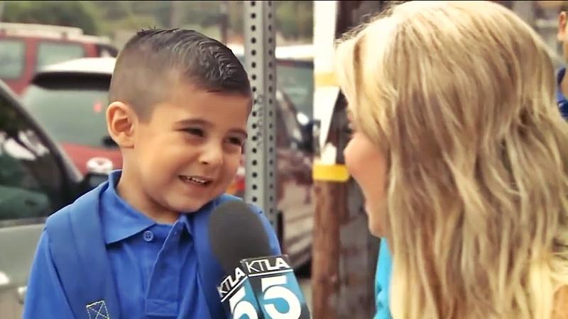 Repórter faz criança chorar ao vivo