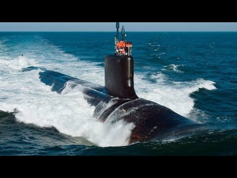 Onboard a U S Navy Nuclear Powered Submarine USS Texas SSN 775 Underway in the Pacific Ocean