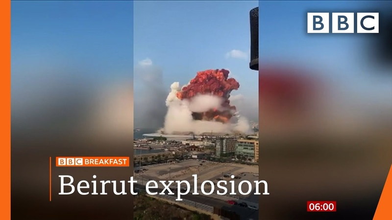 Beirut blast Lebanon in mourning after massive explosion Top stories this morning BBC