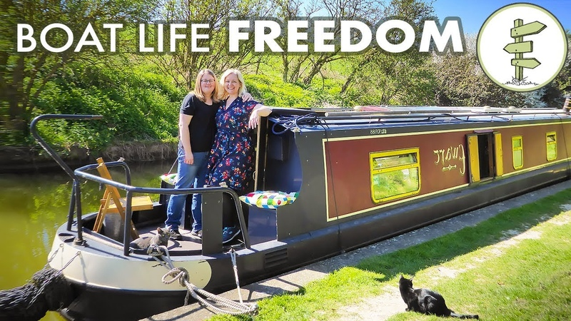 From London Apartment to Living on a Boat Full Time Minimalist Life