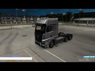 Euro Truck Simulator 2 ➤ World of Trucks ➤ Операция ''Генуэзский Мост''