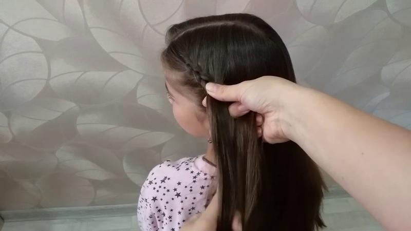 Колосок Техника плетения французской обратной косы для новичков Плетение косичекFrench braids