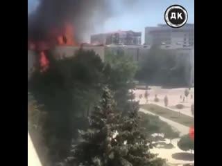 Пожар Ростелеком | Дерзкий Квадрат