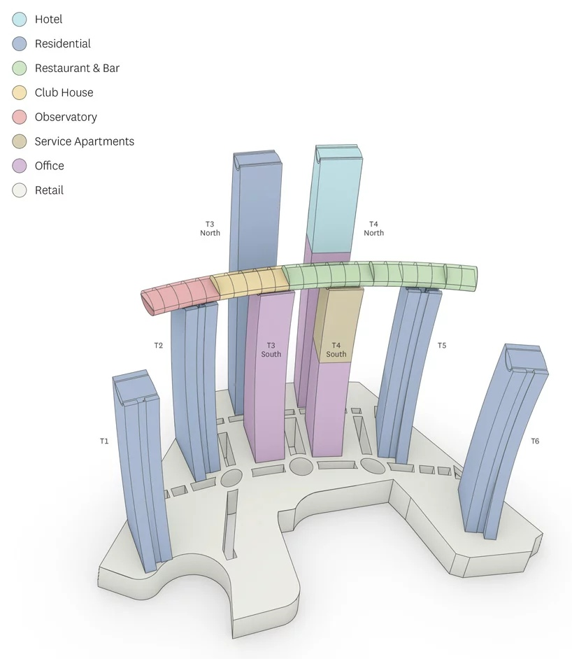В Чунцине завершается строительство комплекса Raffles City