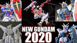 2020 GUNDAM ANNOUNCEMENTS! MG Kyrios, RG Force Impulse AND MORE! IRON DIAPER