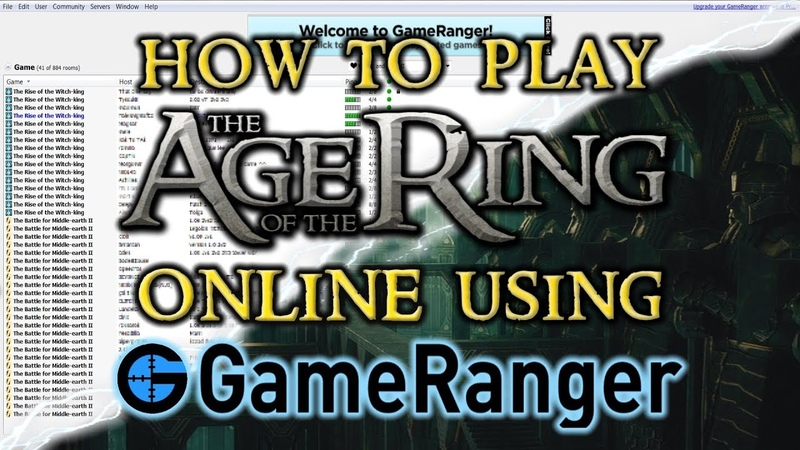 How To Play The Age of the Ring Mod Online Using GameRanger