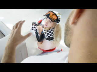 Harlow West - The Drag-Race (Teen, Blonde, Blowjob, Costume, Cowgirl, Doggystyle, Facial, Gonzo, Indoor)