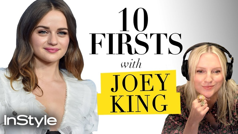 Joey King On Why Everyone Should Watch Seinfeld Her First Drink Order 10 Firsts InStyle