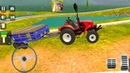 Real Tractor Trolley Cargo Farming Simulation Game – Tractor Game Driving Android Gameplay 2