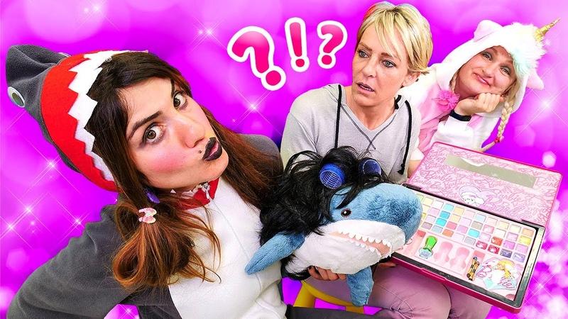 Unicorn ve Shark ile oynuyoruz En izlenen bölümler 2 Komik videolar