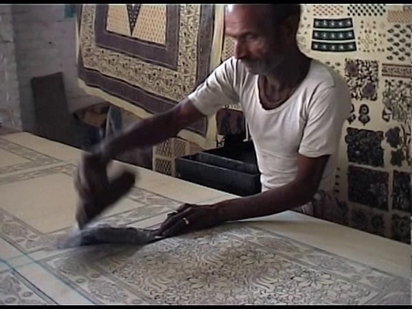 Blockprint Sanganer Jaipur India 2003