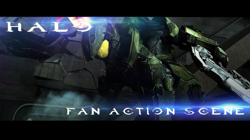 HALO Fan Animated Short Previs