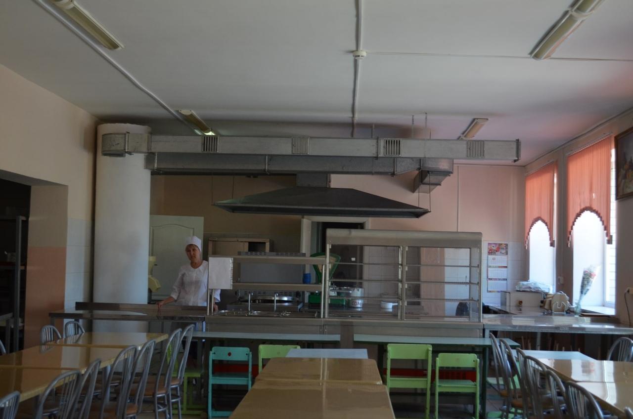Столовая школы №1 полностью готова к обеспечению горячим питанием учеников начального звена