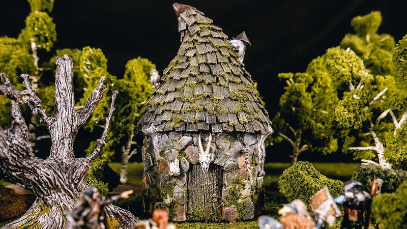 Building a Hags Hut for Dungeons Dragons!