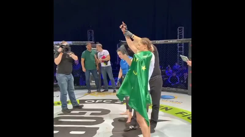 10-ая победа Заиры Дышековой