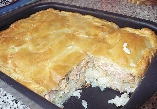 Всего 15 минут : заливной мясной пирог
