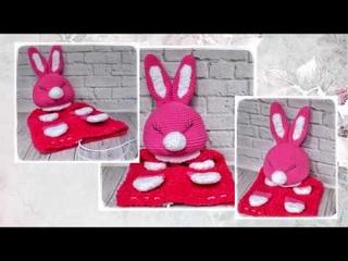 Пижамница ЗАЙКА мастер класс (голова) Pajama Bunny master class (head)