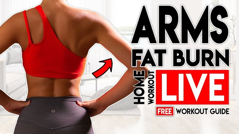 ARMS FAT BURN Live Home Workout Free Home Workout Guide