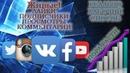 Накрутка живых YouTube, Instagram, VK, FaceBook, Twitter подписчиков, просмотров, лайков 2020