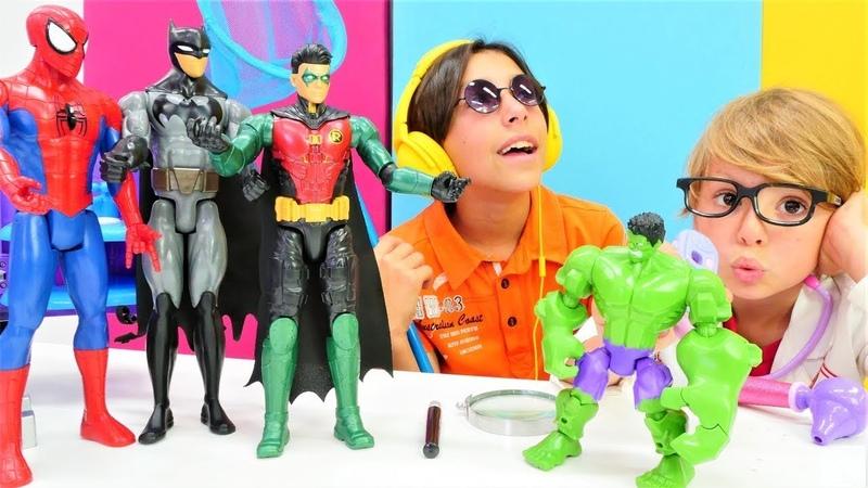 Joker ile süper kahramanlar oyunlar derlemesi Joker ambulans arabasını kaçırıyor