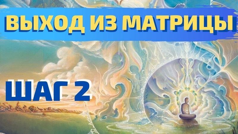 ВЫХОД ИЗ МАТРИЦЫ ШАГ 2 ВАДИМ ЖЕРЕБЦОВ