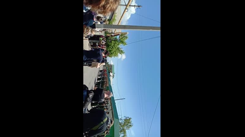 поздравление ветерана с праздником 9е мая в посёлке Седово