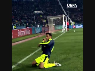 Красивые моменты Лиги чемпионов