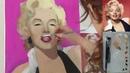 Портрет в разнообразии стилей Часть 2 Мерлин Монро в стиле поп арт Кристина Горбунова