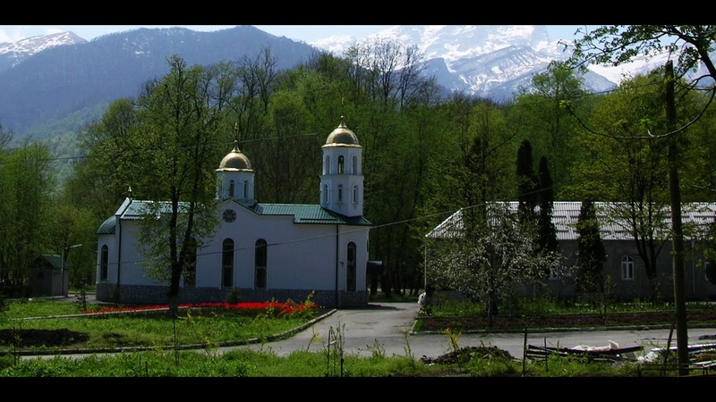 Богоявленский Аланский женский монастырь в Северной Осетии