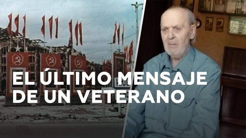Se cumple el último deseo de un veterano dejar su mensaje en la pared del Reichstag RT Play