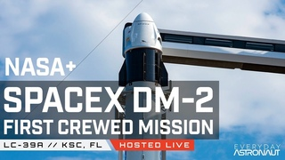 LIVE only 3 miles away from SpaceX and NASA launching humans to space for the first time!