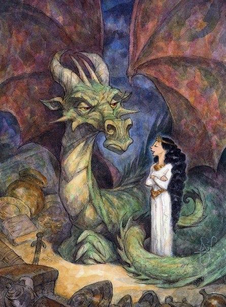 Дракон и конец света. Было себе царство-государство. Царство как царство, с лесами, полями, реками, с царем и народом. Но имелась там одна особенность - любили в нем все на дракона валить.