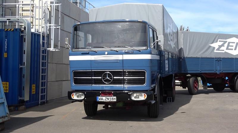 Mercedes Benz LP 1623 LKW Truck Daimler AG