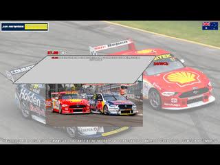 Virgin Australia Supercars Championship: OTR SuperSprint The Bend, Гонка 3,  [A21 Network]