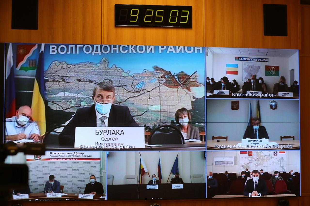 Губернатор Ростовской области Василий Голубев: «Нужно удержать ситуацию по COVID-19»