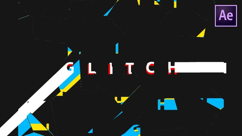 Stretchy Glitch Text Animation in After Effects After Effects Tutorial NO PLUGINS REQUIRED