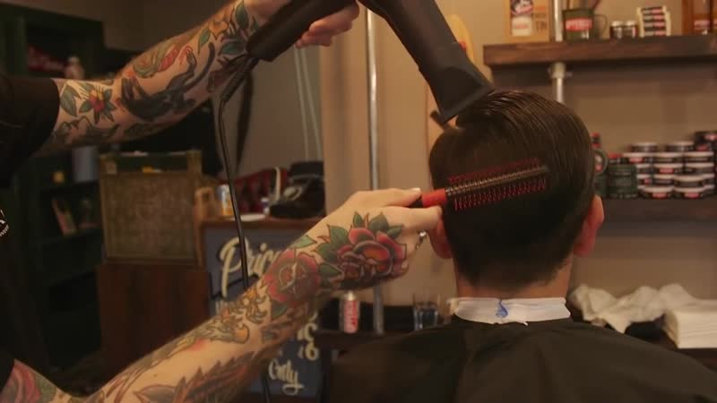 Haircut Tutorial How To Cut and Style an Executive Scissor Cut UPPERCUT DELUX