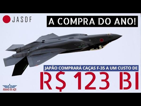 A grande compra do ano Japão comprará mais 105 caças F 35