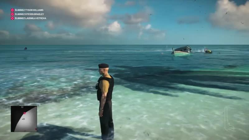 Hitman 2 чемодан против водного скутера mp4