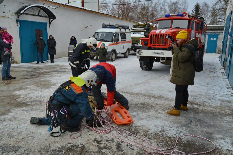 В Коврове прошел день открытых дверей посвященный 116-летнему дню рождения пожарного депо., изображение №15